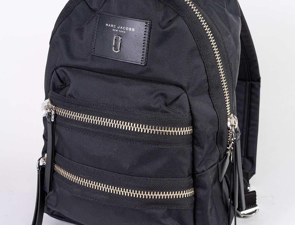 Marc Jacob Silver Backpack front view