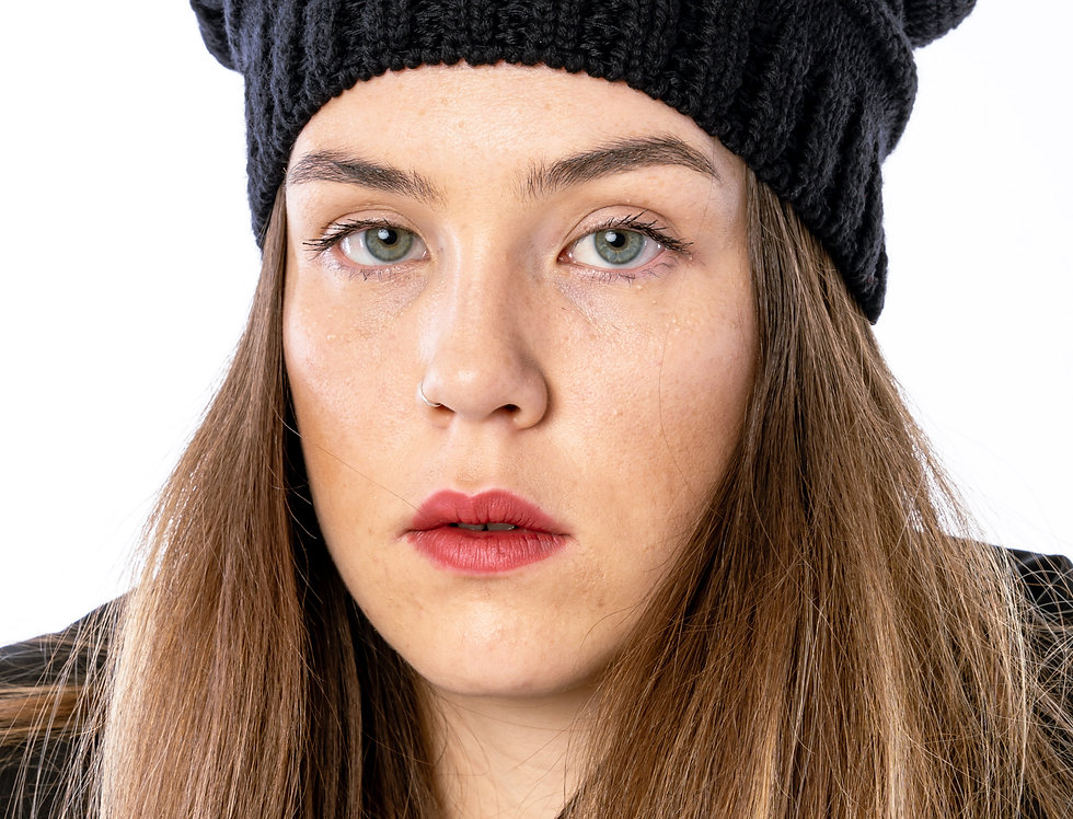 Canada Goose Merino Slouchy Hat In Black