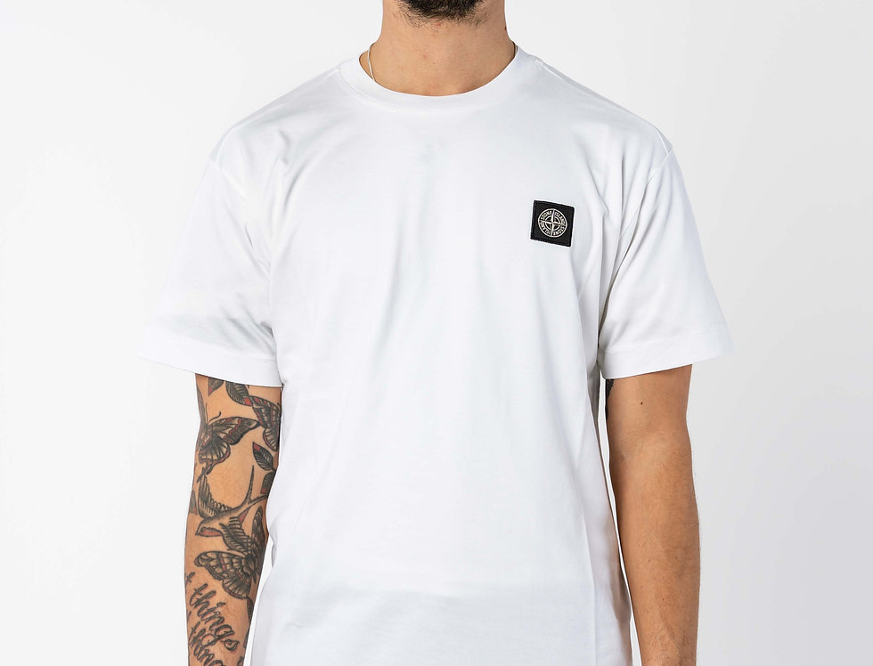 Stone Island Compass T-shirt In White