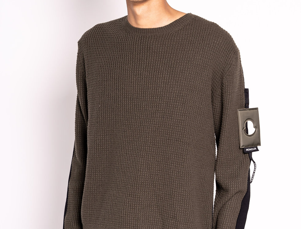 Moncler / Craig Green Two-Tone Knitted Sweater
