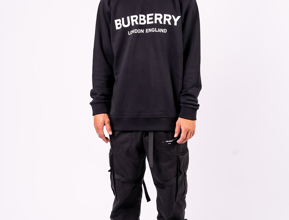 Burberry - Mens Sweatshirt In Black full view