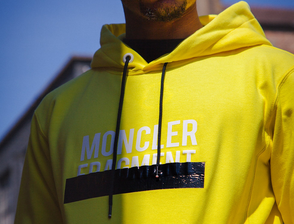 Moncler Fragment Hoody front view