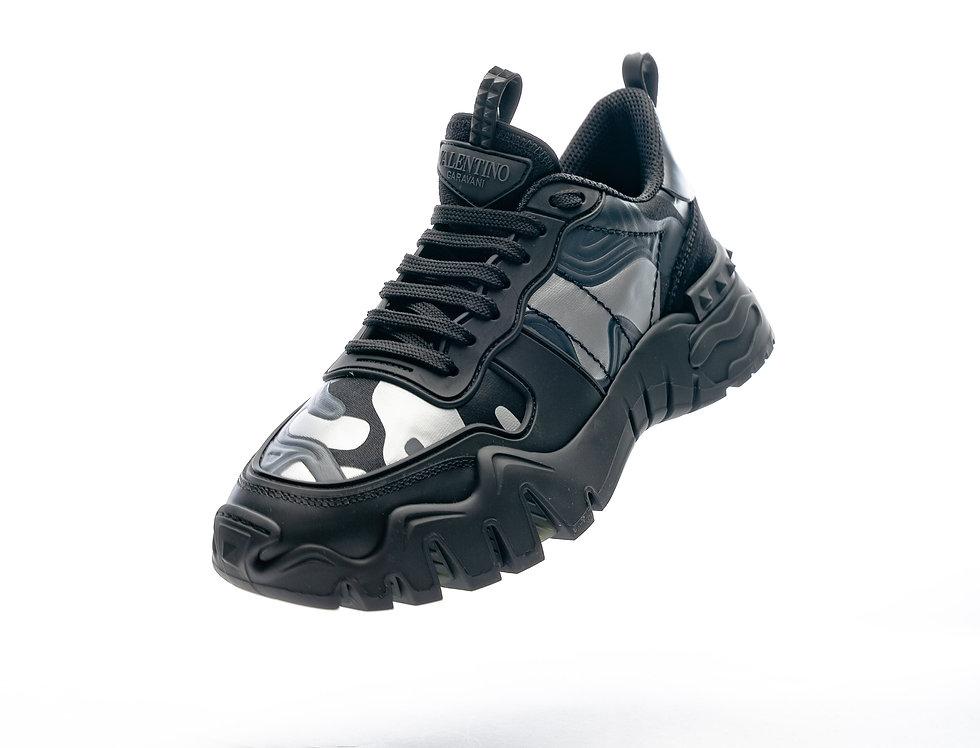 Valentino Low Sneaker In Camo
