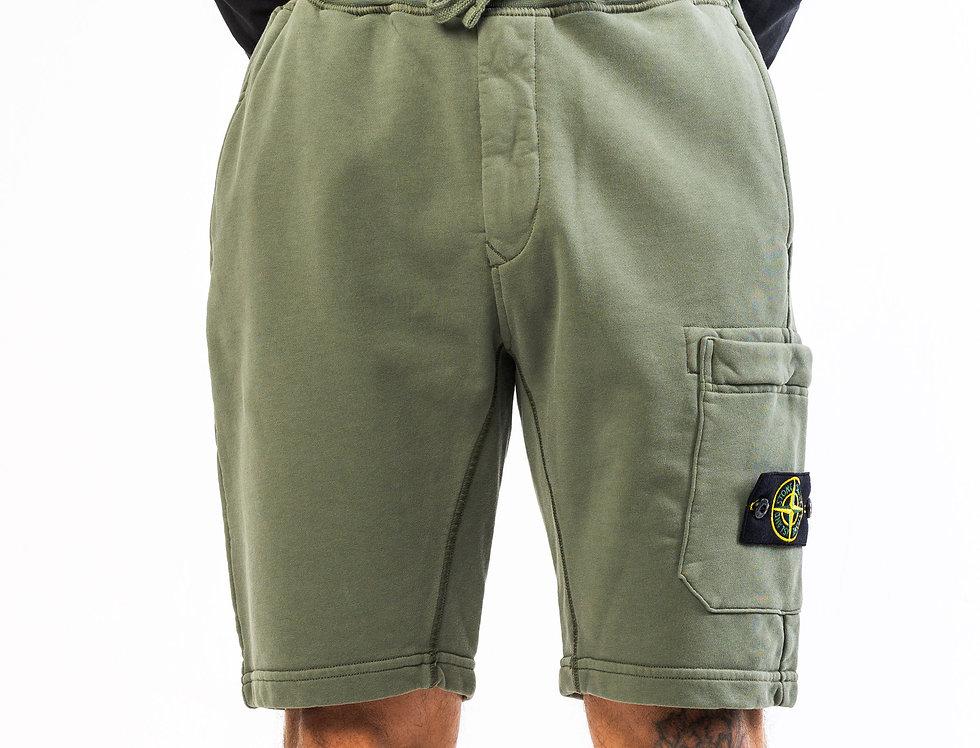 Stone Island Sweat Shorts in Khaki