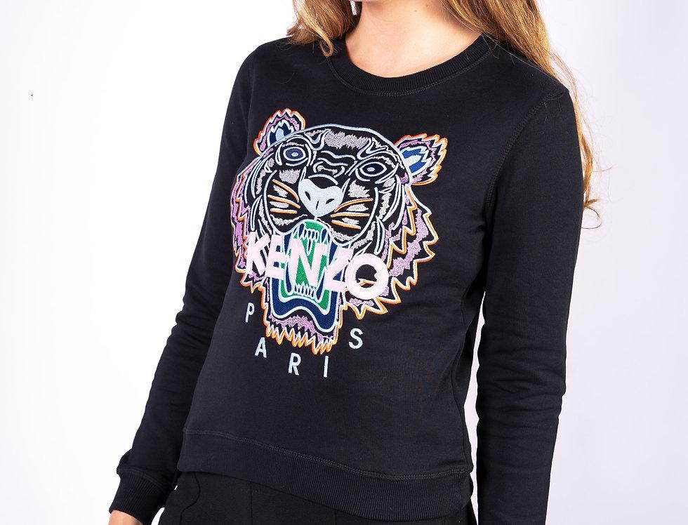 Kenzo Ladies 'Tiger' Sweatshirt In Black