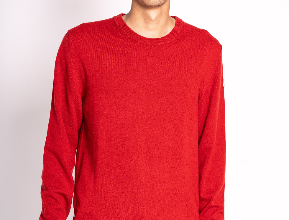 Moncler Knitted Sweater in Red