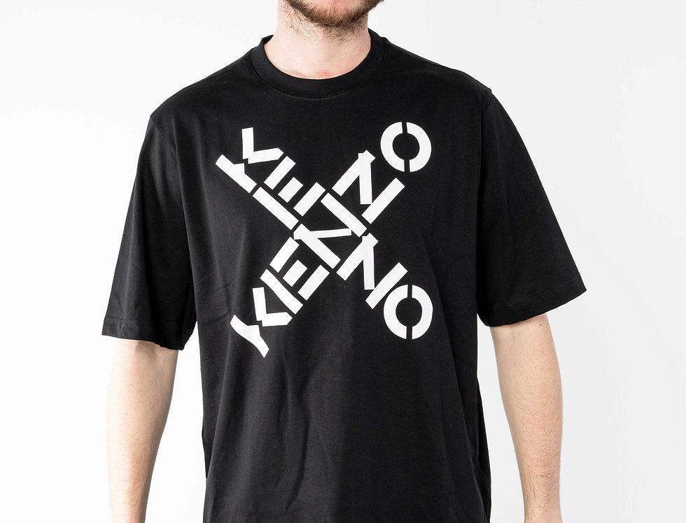 """Kenzo Black Oversize """"Big X"""" Tshirt"""