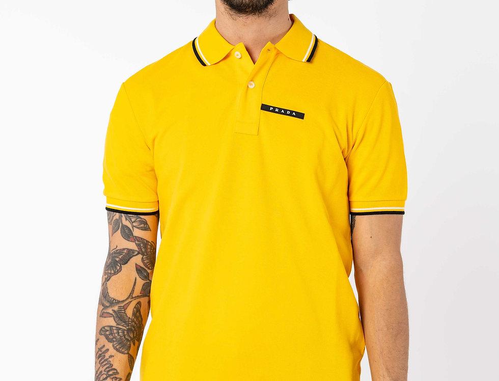 Prada Polo In Yellow