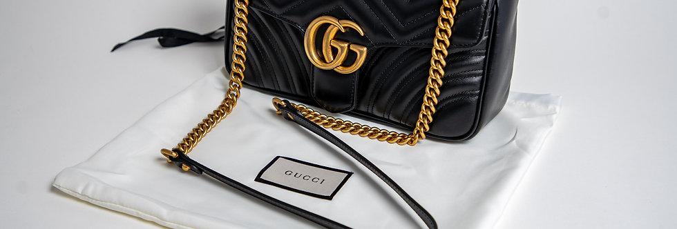 Gucci Marmont Small In Black