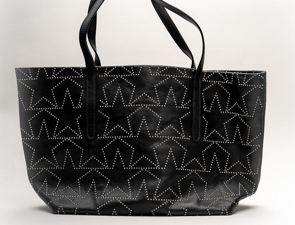 Jimmy Choo Sofia Tote Bag In Black Leather