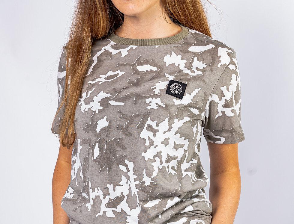 Stone Island Junior Camo T-Shirt
