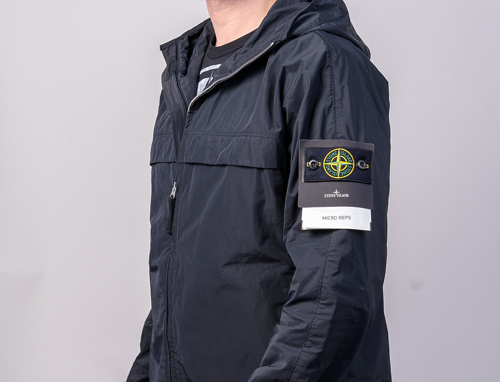 Stone Island SS20 Micro Reps Jacket front view