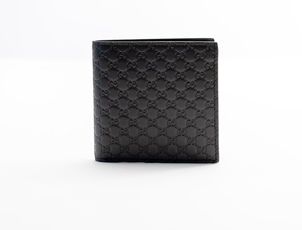 Gucci Leather Wallet Brown With Pocket