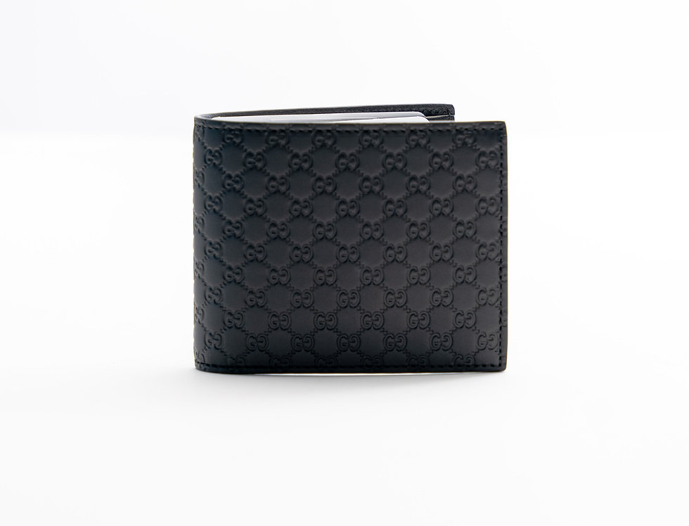 Gucci Leather Wallet Black