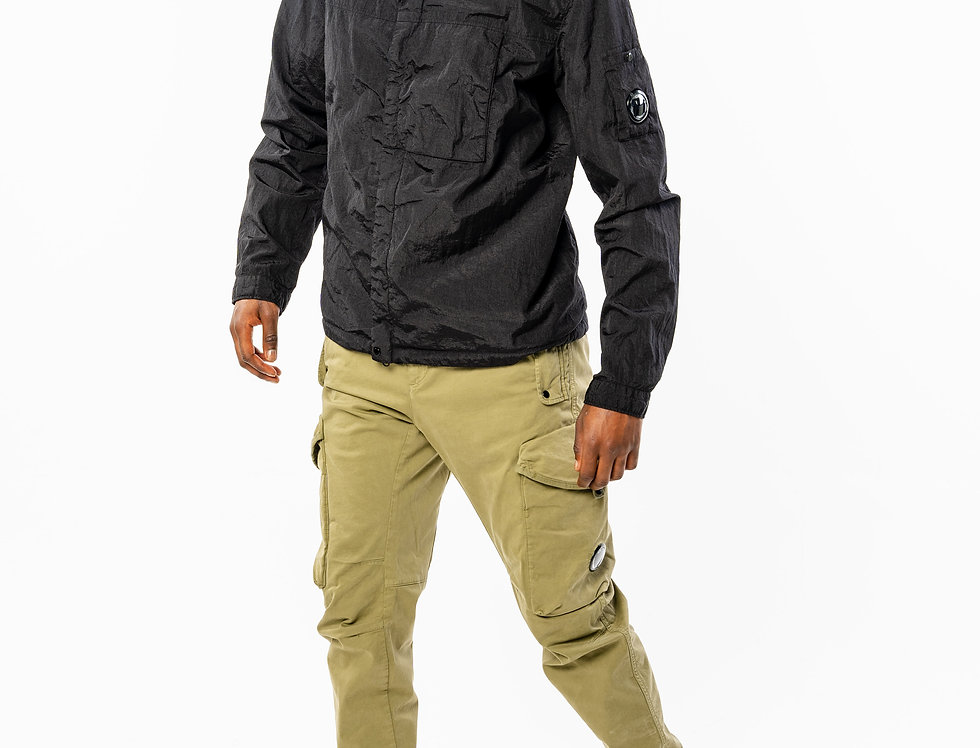 C.P. Company Cargo Pant in Beige front view