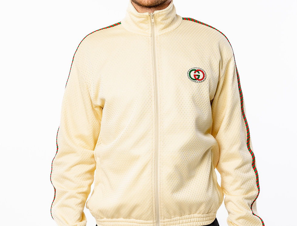 Gucci Cream Track Jacket 2020