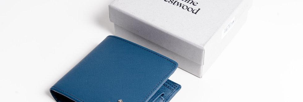 Vivienne Westwood Blue Wallet