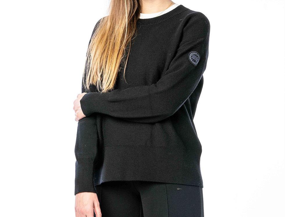 Canada Goose Aleza Sweater In Black