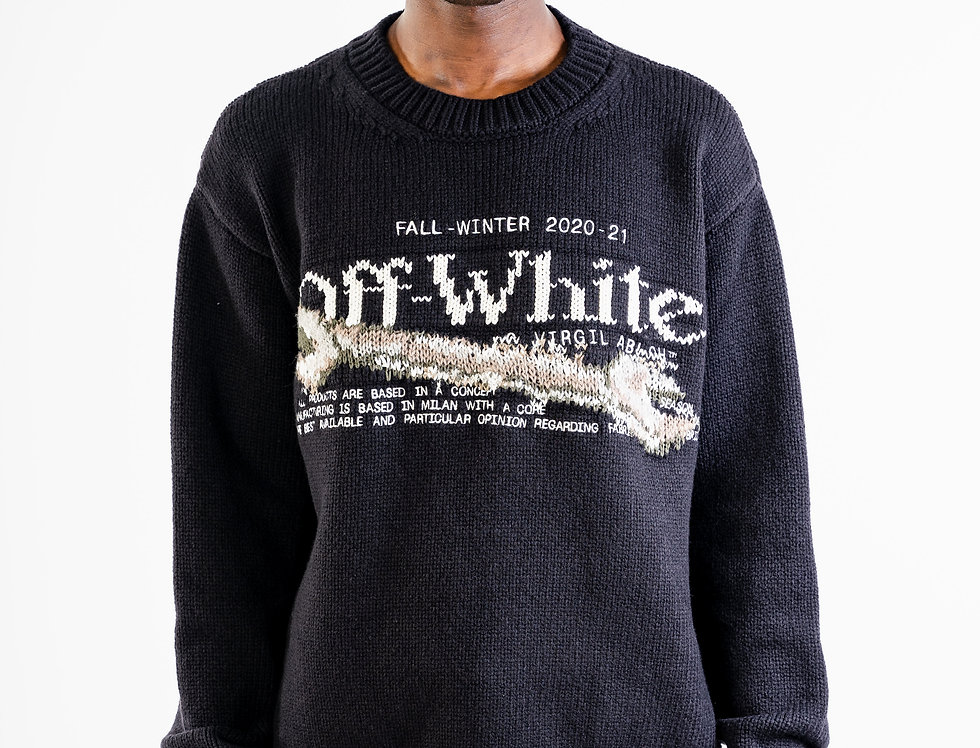 OFF-WHITE™️ AW20Pascal Tool Knitwear