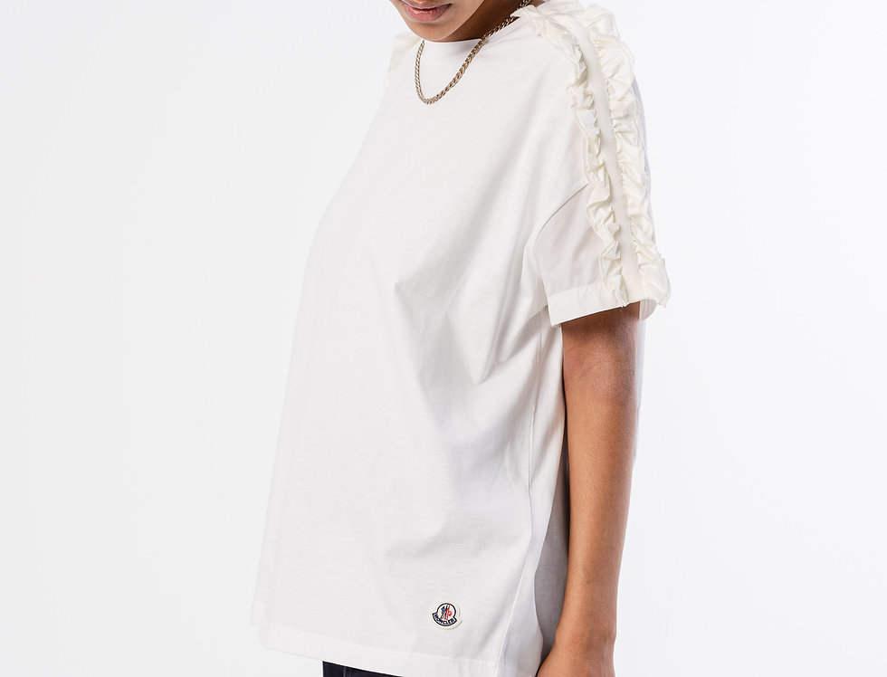 Moncler Ladies T-Shirt In White