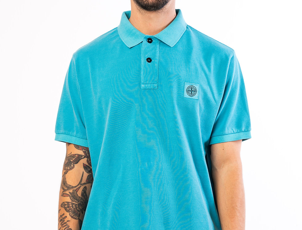 Stone Island Polo In Blue
