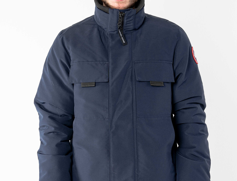 Canada Goose Forester Jacket In Navy
