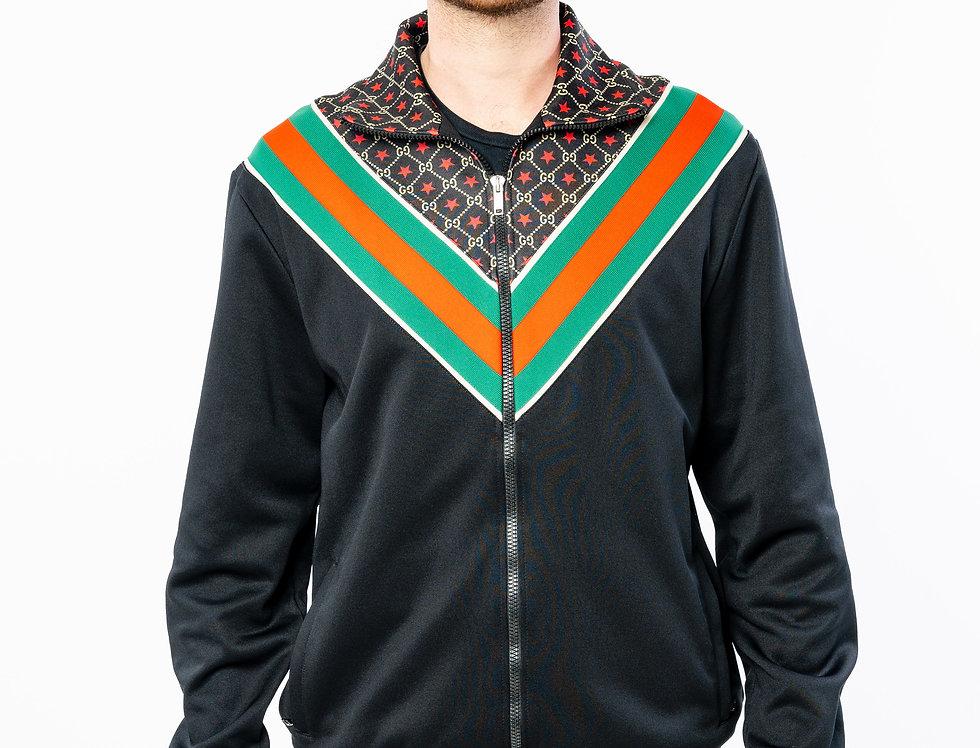 Gucci Black GG Star Oversize Jacket