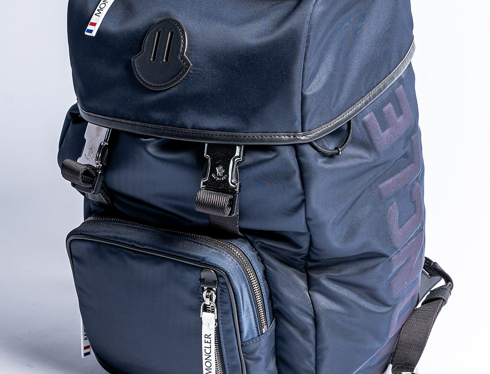 """Moncler """"Chute"""" Backpack front view"""
