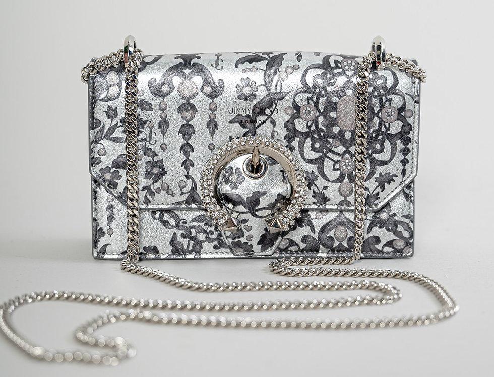Jimmy Choo Paris Bag in Silver