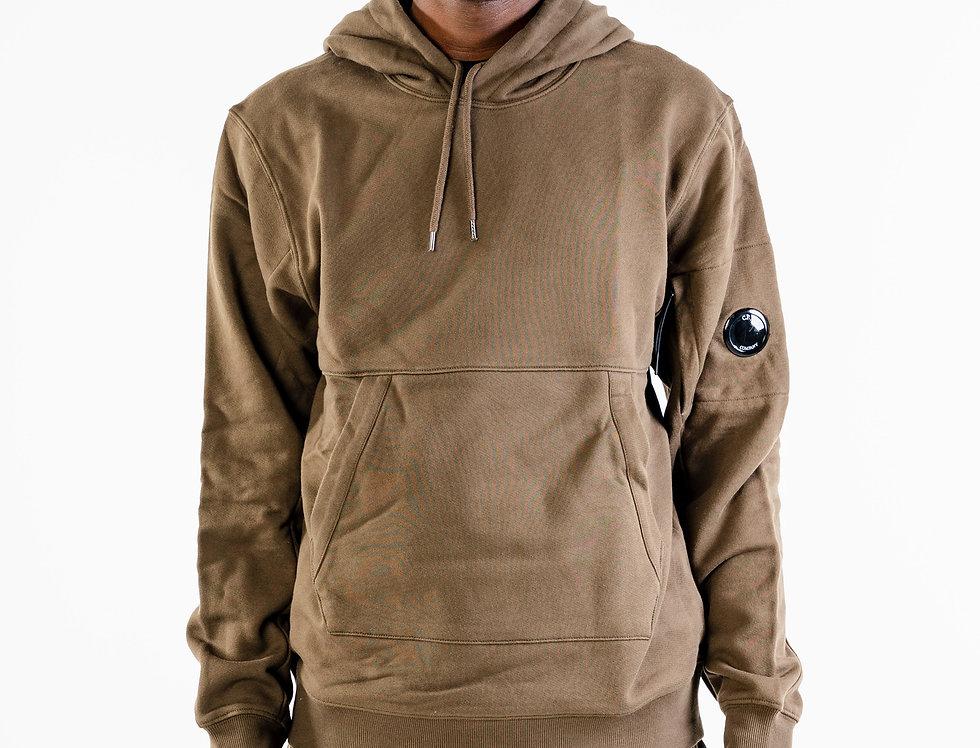 C.P. Company Hooded Sweatshirt In Khaki