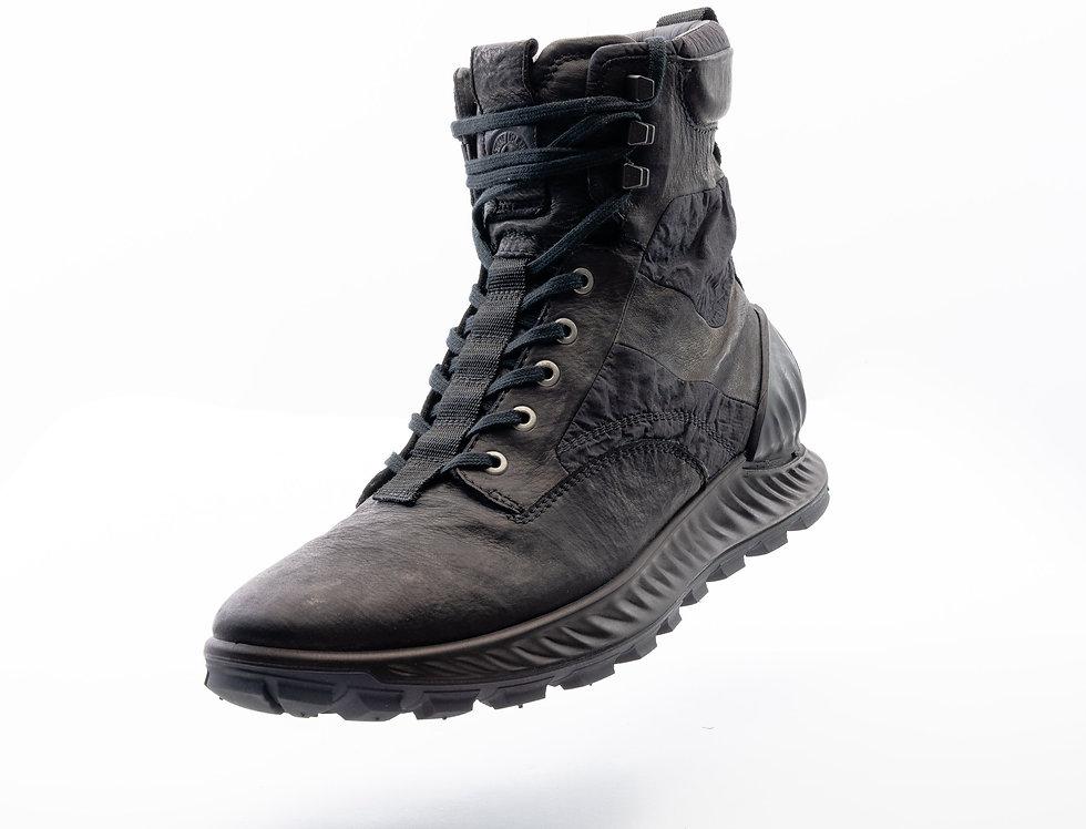 Stone Island Leather Combat Boot