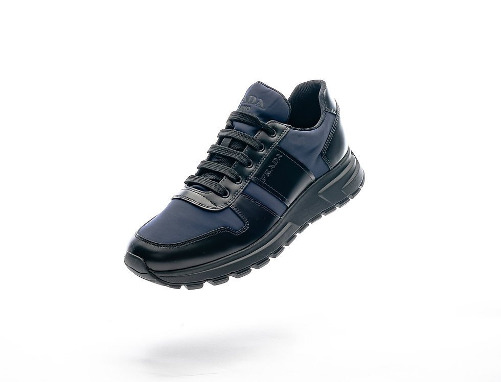 Prada Sneakers In Navy