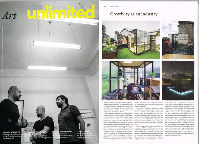 Minima Moralia featured on ArtUnlimited magazine!