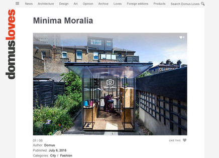 Domus loves Minima Moralia