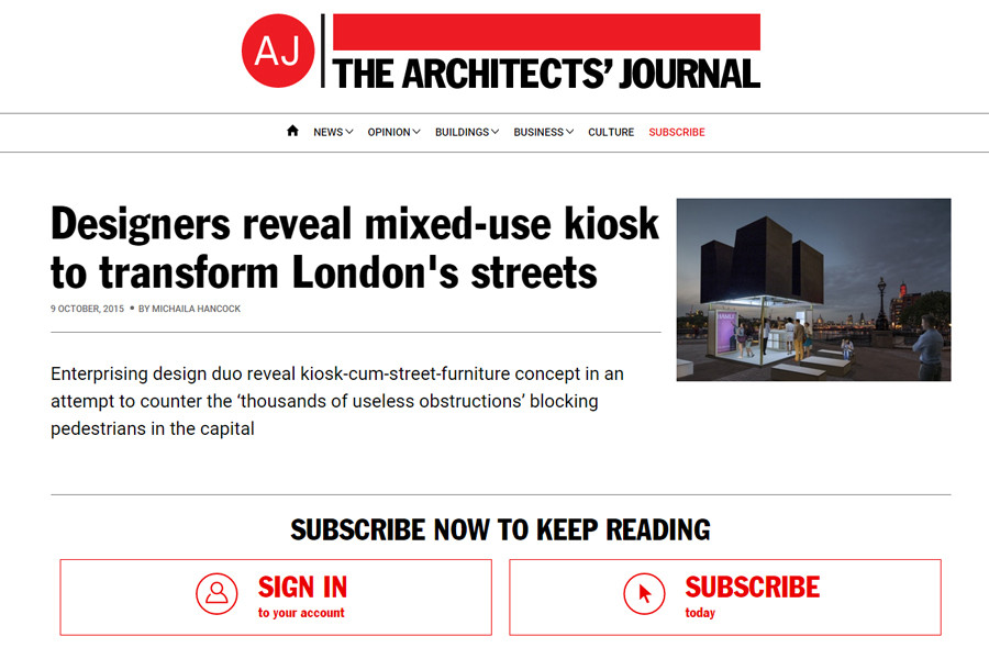 http://www.architectsjournal.co.uk/designers-reveal-mixed-use-kiosk-to-transform-londons-streets/8689125.fullarticle