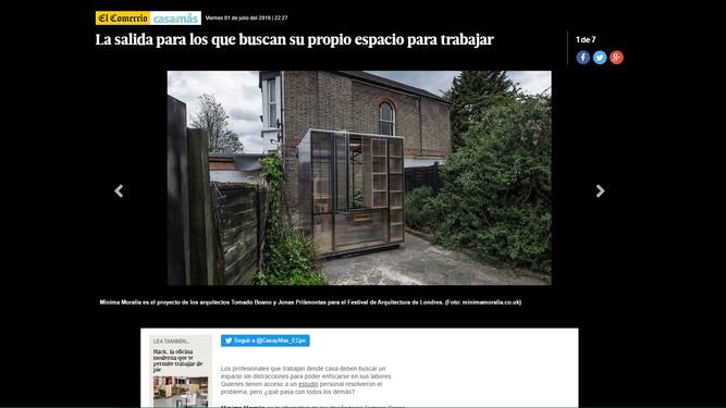 News from Peru!
