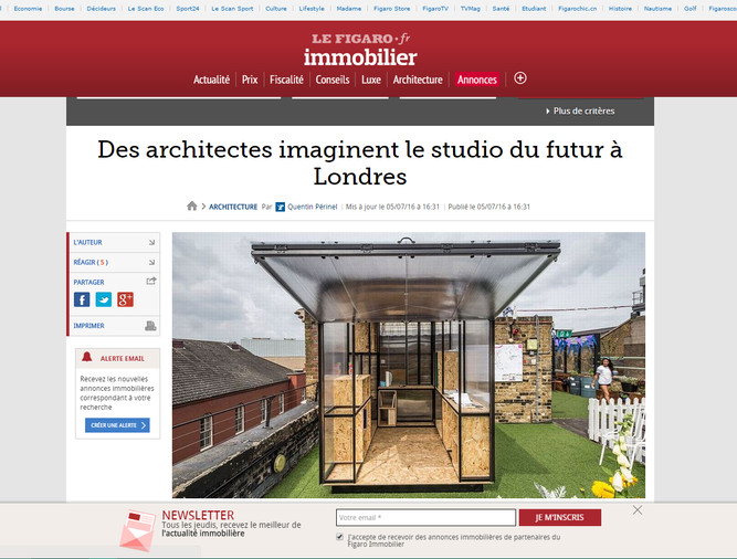 Bonjour France! So honored to be published on Le Figaro!