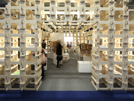 Wood Awards Pavilion at the 100% Design