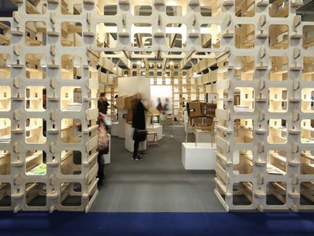 Wood Awards Pavilion at the 100% Design