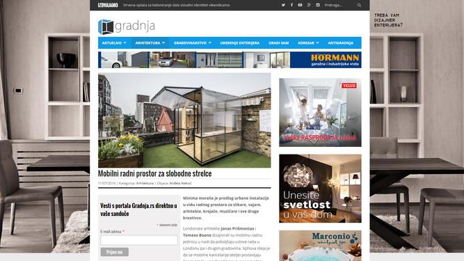 """MINIMA MORALIA"" going viral... Serbia! Thanks gradnja!"
