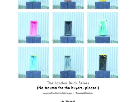 #TheLondonBrickSeries at Espacio Gallery