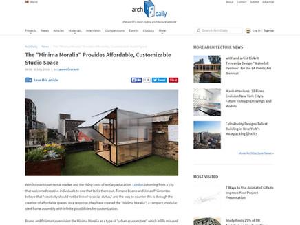 #Minima Moralia now on Arch Daily!