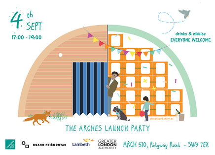 The Arches Launch Party!