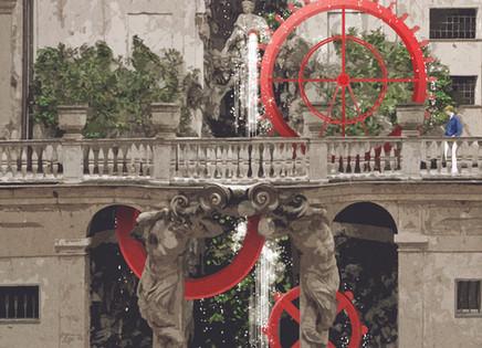 """Our illustration for the call """"La statua e il Ninfeo"""" at Palazzo Lomellini in Genoa"""