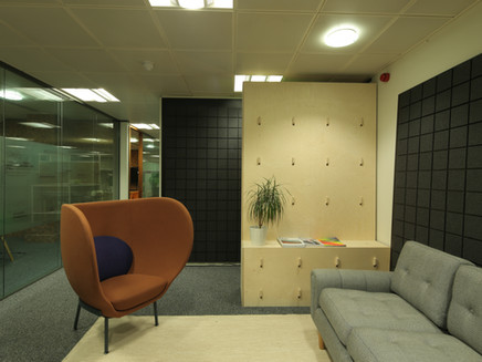 New Office furniture and reception area for Data Art!