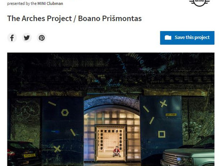 The Arches Project is on #Archdaily!