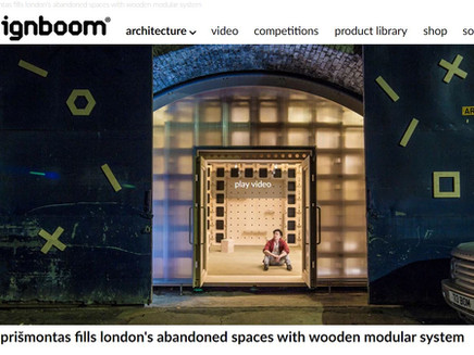 The arches Project is on Designboom!