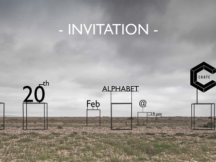 #Alphabet - Exhibition @ Crate Brewery