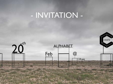 #Alphabet - Exhibition @ Crate Brewery