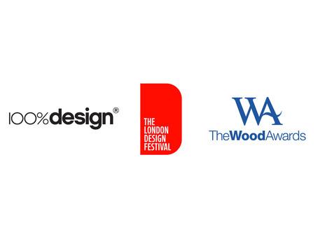 We'll be at 100%design & London Design Festival!